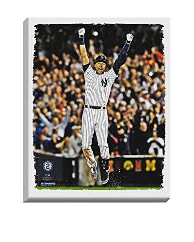 Steiner Sports Memorabilia Derek Jeter Final Yankee Moment Stretched Canvas