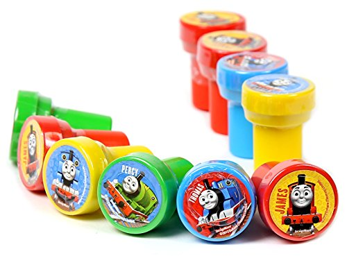 Thomas the Tank Engine (Thomas & Friends) Self-Inking Stamps / Stampers Party Favors (10 Counts) - 1