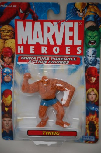 "Thing Marvel Heroes 2.5"" Poseable Action Figure"