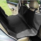 Zone Tech Classic Black Heavy Duty Auto Pet Hammock Premium Quality Dog Vehicle Seat Protector