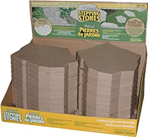 Emsco Group 2168 Natural Interlocking Stepping Stones Sandstone - 24 Pack (Discontinued by Manufacturer)