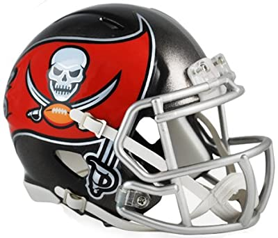 NFL Tampa Bay Buccaneers Revolution Speed Mini Helmet (New 2014 Logo)