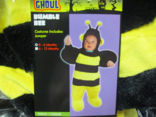 Totally Ghoul Plush Bumble Bee Jumper Costume 6-12 Months
