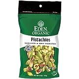 EDEN Pistachios, 4 -Ounce Pouches (Pack of 3)