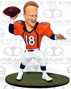 McFarlane Toys NFL Small Pros Series 1 LOOSE Mini Figure Peyton Manning [Denver Broncos]
