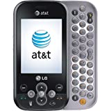 LG GT365 Neon GSM Unlocked Phone with 2 MP Camera, Bluetooth, MP3 and QWERTY Keyboard - US Warranty - Gray/Black
