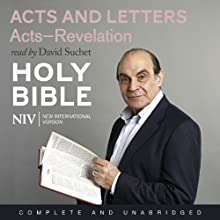 NIV Bible 8: Acts and Letters Audiobook by  New International Version Narrated by David Suchet