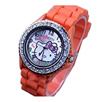 buy Lovely Fashion Hello Kitty Watches Girls Ladies Wrist Watch Wkt@Dgw574M