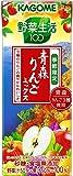 カゴメ 野菜生活100 青森りんごミックス 200ml×24本