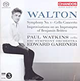 Sir William Walton: Symphony No. 2 - Cello Concerto