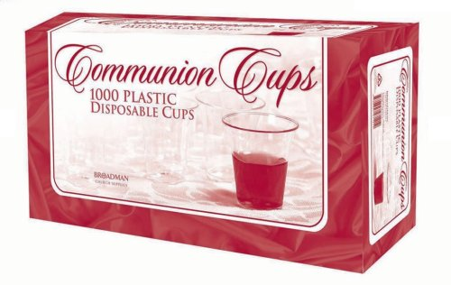 Communion Cups - Box of 1000 - Disposable (Communion Supplies compare prices)