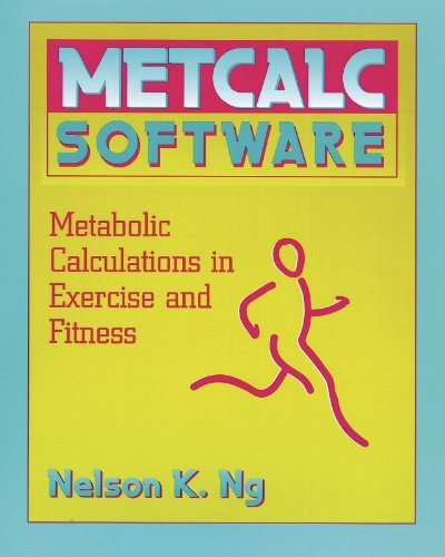 Metcalc Software Metabolic Calculations In Exercise And Fitness