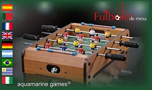 Aquamarine Games - Futbolín de mesa (Compudid CP016)