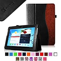 Fintie Slim Fit Folio Case Cover for Samsung Galaxy Tab 2 10.1 inch Tablet - Dual-Color from FINTIE
