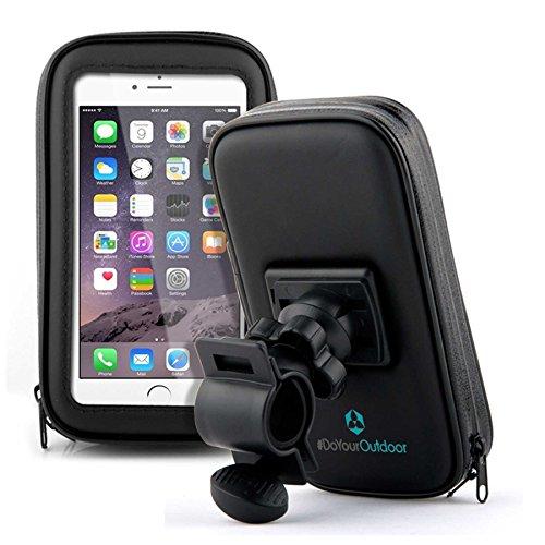 Fahrradhalterung-Halter-Lenkradhalterung-Bike-Holder-mit-wasserdichter-Schutzhlle-Tasche-Universal-fr-Smartphones-Handy-Navi-GPS-Halterung-360-Grad-drehbar-verschiedene-Taschengre-X-LARGE