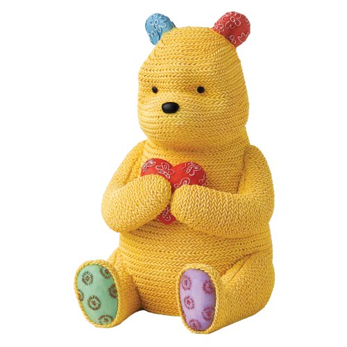 Classic Pooh Knitted Pooh Money Bank front-893615