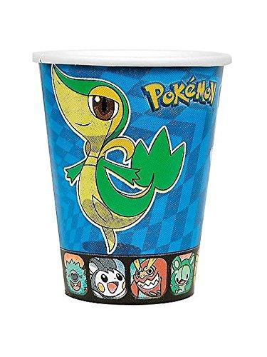 Pokemon 'Birthday' 9oz Paper Cups (8ct)