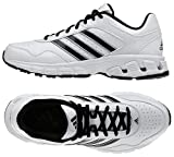 Adidas Q32976 Falcon Trainer 3 Men's Shoes (White/Black/Metallic Silver)