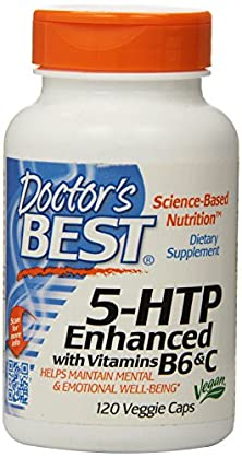 buy Doctor'S Best 5-Htp Enhanced With Vitamins B6 And C, Vegetable Capsules, 120-Count