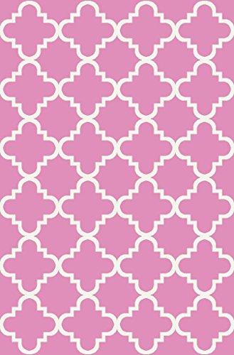 anti-bacterial-rubber-back-doormat-non-skid-slip-rug-18x31-pink-trellis-interior-entrance-decorative