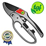 Pruners, Ratchet Pruning Shears, Garden Tool, For Weak Hands, Gardening Gift For Any Occasion, Anvil Style