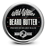 Beard Balm By Wild Willie's - Leave In Conditioner Beard Butter - The Amazing Beard Balm with 13 Natural Locally Sourced Ingredients That Condition and Style Your Beard or Mustache At the Same Time. Made By Hand in the USA. .5 Ounce.