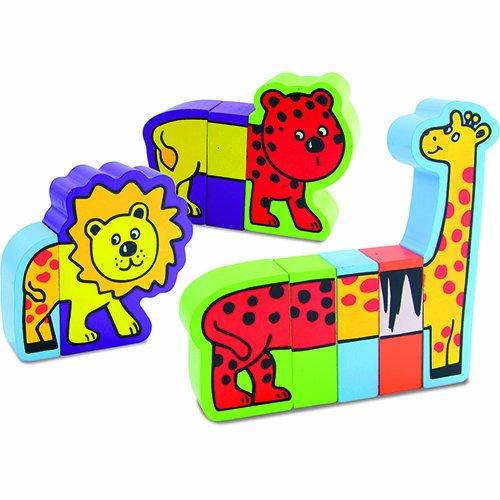 Vilac Magnetic Animal Blocks - 1
