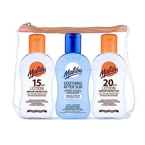 malibu-travel-set-pack-1x-100ml-sun-lotion-spf15-1x-100ml-spf20-and-1-x-100-ml-after-sun-100ml-cream