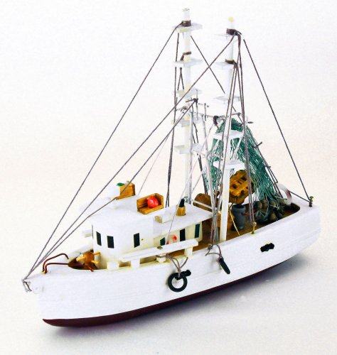 Shrimp Boat 7 Inches Long, Fully Assembled Not a Kit (Model Shrimp Boat compare prices)