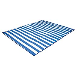 Stansport Tatami Straw Ground Mat, Blue