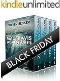 Mac Travis Adventures Box Set (Books 1-4): Includes - Wood's Relic, Wood's Reef, Wood's Wall, Wood's Wreck