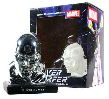 Picture of Diamond Select Marvel Universe Silver Surfer Bust by Alex Ross Fantastic 4 Figure (B001SWMM82) (Fantastic Four Action Figures)