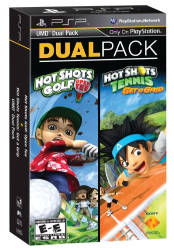 PSP Dual Pack - Hot Shots Golf: Open Tee and Hot Shots Tennis: Get a Grip - 1
