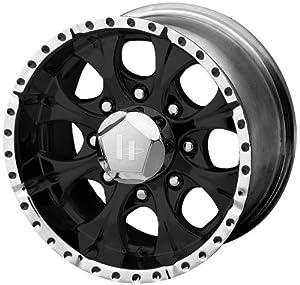 "Helo HE791 Gloss Black Machined Wheel - (16x8""/8x6.5"")"