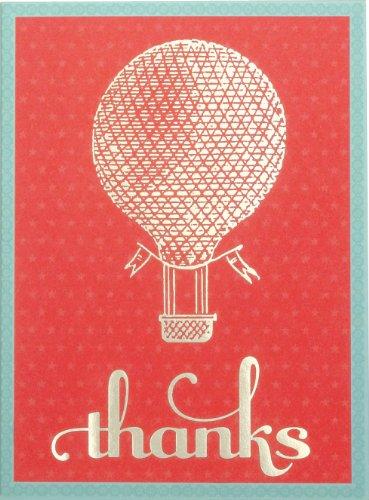 Hot Air Balloon Glitz Thank You Notes PDF