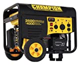 51IamSPYcPL. SL160  Champion Power Equipment 46561 4,000 Watt 196cc 4 Stroke Gas Powered Portable Generator With Wireless Remote Electric Start