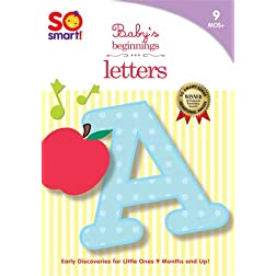 So Smart! Baby's Beginnings - Letters