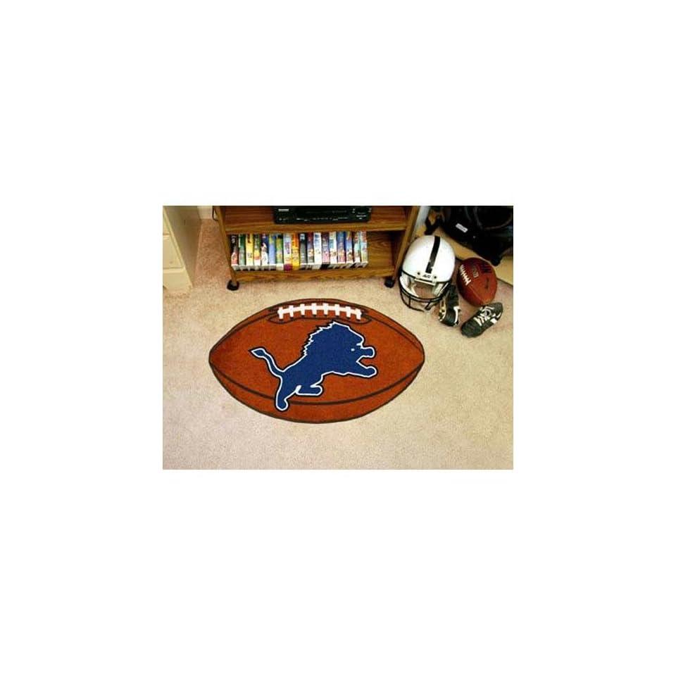 Detroit Lions NFL Football Floor Mat (22x35)
