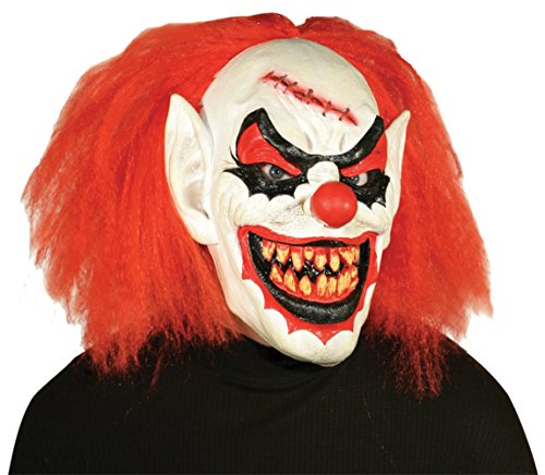 Carver The Killer Scary Clown Horror Latex Adult Halloween Costume Mask