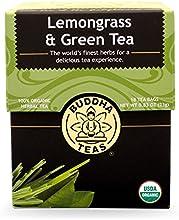 Lemongrass amp Green Tea - Organic Herbs - 18 Bleach Free Tea Bags
