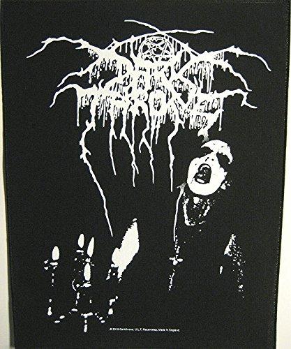 Toppa Dark Throne/Back patch # 3Transil Vanian Fame