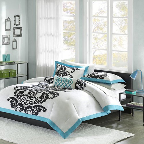 turquoise and black bedding sets OchKA7u8