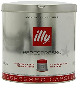 Illy Espresso Pods (21 Capsules) - Medium Roast
