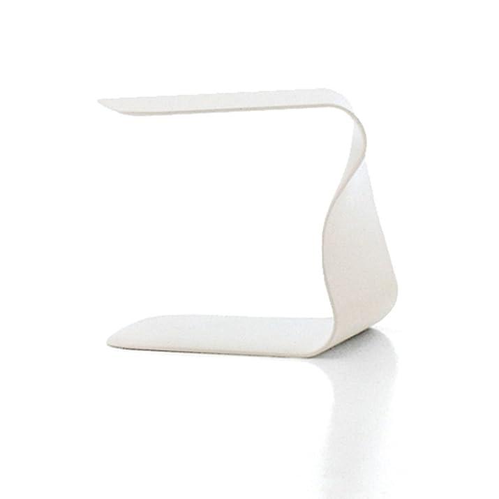 BONALDO tavolino Duffy bianco laccato poliuretano comodino camera salotto TD 35