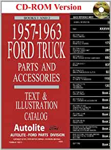 1957 63 Ford Truck Master Parts And Accessory Catalog