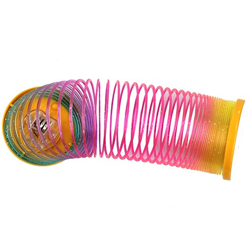 1-Pcs-Classic-Toys-Protean-Colorful-Rainbow-Circle-Folding-Plastic-Spring-Coil-Childrens-Creative-Educational-Toys