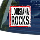 Louisiana Rocks - Window Bumper Laptop Sticker