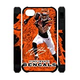 Cincinnati Bengals iPhone 4 4S A.J. Green poster background Durable Cover Case