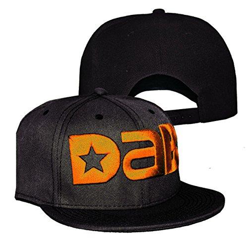 DAB-Logo-Cap-Snapback-Hat-Design-Multiple-Colors-Black-Orange