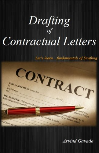 Drafting of Contractual Letters PDF